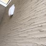 仙台市宮城野区I様邸外壁は特殊コテ仕上げの塗装でオンリーワンの壁に